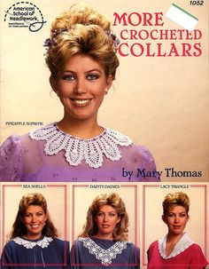 More Crocheted Collars by Mary Thomas Dainty by ladydiamond46