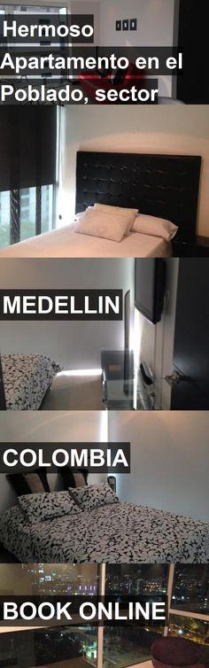 Hotel Hermoso Apartamento en el Poblado, sector Milla de Oro in Medellin, Colombia. For more information, photos, reviews and best prices please follow the link. #Colombia #Medellin #travel #vacation #hotel