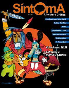 Portada revista Síntoma número 1  #comic #sintoma #ocholibros #chile