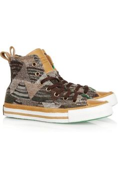The High-Top: Converse + Missoni Chuck Taylors