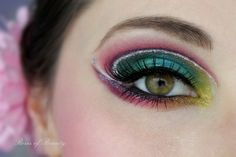 How beautiful is this eye make up from the lovely Roselyn? ♡
