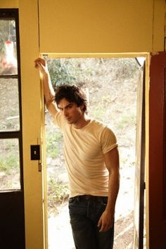 """""""..Christian in tight jeans and white t-shirt... bending like that... is something to behold.."""""""