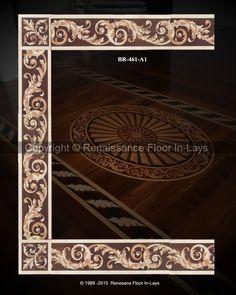 Floor Design, All Design, Design Ideas, Image Border, Royal Design, Marquetry, Renaissance, Floors, Stencils