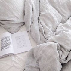 """1 Likes, 1 Comments - 100% Linen Bedding & Wear (@bedtonic) on Instagram: """"Pure French flax linen. Hypoallergenic, extremely hard wearing, and deliciously kind to our planet.…"""""""