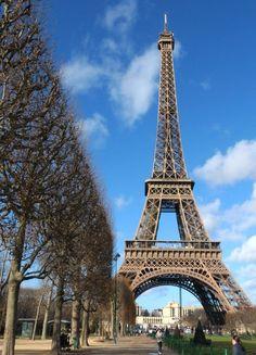 The Eiffel Tower , Paris