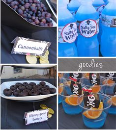 If I have a little boy one day, I will be glad to have this...Pirate party food