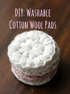 DIY: Reusable Cotton Wool Pads