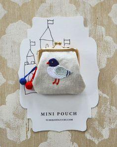 mini pouch // Yumiko Higuchi