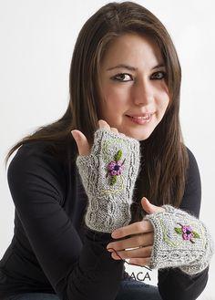 411e0ea0 Embroidered Alpaca Fingerless Gloves. Alpaca SocksAlpaca WoolAlpaca ScarfFingerless  Gloves KnittedHand ...