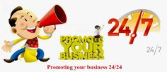 Promoting your business 24/24 : The #Internet is able to offer you a great way in which you can constantly #promote your #business. All you have to do is to have a #website and to update it on a constant basis.