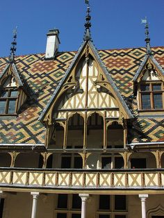 Beaune Hospice Roof