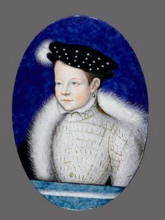 Portrait du futur François II Limosin, Léonard (attribué à)  © RMN (Musée du Louvre) / Gérard Blot Département des Objets d'Art  http://www.louvre.fr/oeuvre-notices/portrait-du-futur-francois-ii