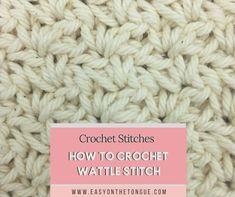 Different Crochet Stitches, Crochet Stitches Patterns, Stitch Patterns, Double Knitting, Half Double Crochet, Last Stitch, Single Crochet Stitch, Crochet Basics, Learn To Crochet