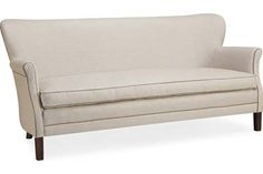 Lee Industries: 1347-11 Apartment Sofa velvet seeat cushion 1347-11 APARTMENT SOFA OVERALL  	W70	D32	H33 INSIDE  	W62	D23	H17   SEAT HT  	17 ARM HT  	24 BACK RAIL HT  	32