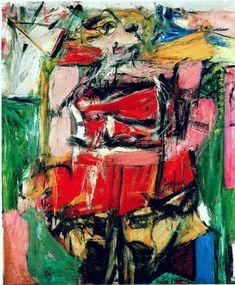 Woman VI (1953) by Willem de Kooning (Dutch-American, b.1904 d.1997)