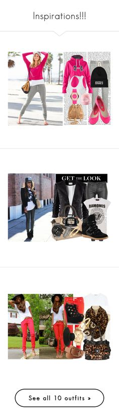 """""""Inspirations!!!"""" by broderickcaddy ❤ liked on Polyvore featuring Victoria's Secret, Under Armour, NIKE, The Ragged Priest, WGACA, Marc by Marc Jacobs, Eos, H&M, Kate Spade and Dyrberg/Kern"""