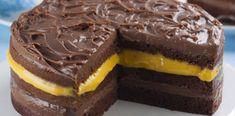 Bolo de Chocolate com Creme de Maracujá | Tortas e bolos > Bolo de Maracujá | Receitas Gshow