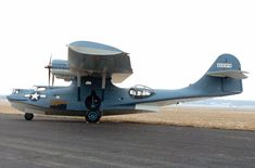Consolidated OA-10 Catalina, Army PBY flying boat, patrol bomber.