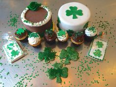 Everything you need for a sweet St. Patrick's Day! #carlosbakery