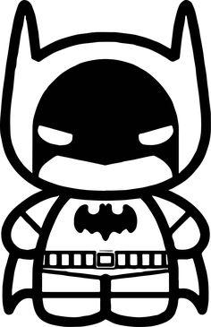 Chibi Cute Batman Coloring Page - Coloring Sheets Chibi Coloring Pages, Batman Coloring Pages, Colouring Pages, Coloring Sheets, Cute Batman, Baby Batman, Batman Art, Batman Drawing, Gotham Batman