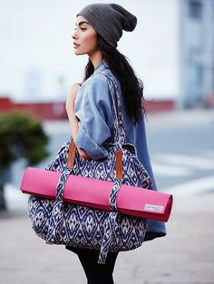 love.love.love this.....     Free People Third Eye Yoga Tote, $78.00