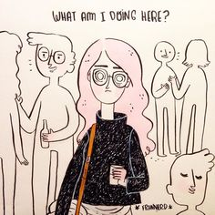 Me tonight at an event it happens sometimes right? by frannerd
