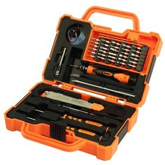 JAKEMY JM-8139 45in1 Multi Bit Screwdriver Kit with Spudger Tweezers for Electronics Repair
