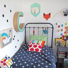 Le coin de Charly sur le blog, toutes les photos de leur chambre #pourmesjolismomes #kidsroom #deco