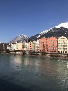 Innsbruck, Europe, Houses, River, Outdoor, Color, Homes, Outdoors, Colour