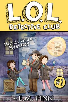 Love this mystery series (Free on Kindle Unlimited) - Perfect for kids ages 8-12.  Good, clean fun and really engaged my reluctant readers!  http://amzn.to/23J55jB