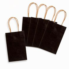 Core'dinations®+Chalkboard+Gift+Bags:+5.25+x+8.375+x+3.25+inches,+6+pack