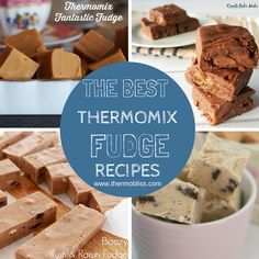 To help you decide which fudge recipes to make first, we've put together a collection of the best Thermomix Fudge recipes - which we know you will enjoy! Fudge Recipes, Candy Recipes, Sweet Recipes, Dessert Recipes, Cheddarwurst Recipe, Mulberry Recipes, Spagetti Recipe, Szechuan Recipes, Treats