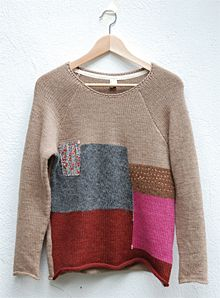 Brief history of a patchwork sweater