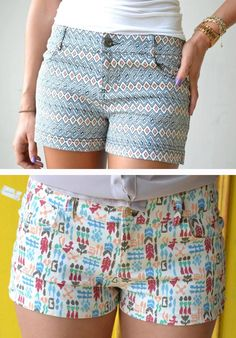 Printed shorts to perfectly compliment all your pretty new Roadtrip tops n tanks this summer!