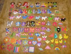 Collection Perler beads by Isabella A.