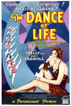 The Dance of Life 1929 Al St. John, Charles D. Brown, Dorothy Revier, Drama Musical Romance, George Irving, Gladys DuBois, Hal Skelly, John Cromwell, May Boley, Nancy Carroll, Oscar Levant, Ralph Theodore
