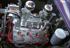 Custom Ford Flathead modified with Offy head and Offy intake