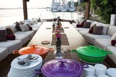 Fel-Felucca, Nile lanterns- Dining Area . Designed by Être Design Boutique- Cairo, Egypt