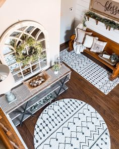 Designed by @myfarmhouseheritage White Rugs, Area Rugs, Kids Rugs, Design, Home Decor, Rugs, Decoration Home, Kid Friendly Rugs, Room Decor