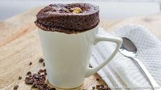 This 1 Minute vegan cake in a mug is a simple stir, microwave and eat recipe! Just a few simple ingredients and you can indulge your sweet tooth with a single serve cake that tastes rich and decadent.Vegan Cake In a Mug - Chocolate Peanut Butter! - This 1 Minute vegan cake in a mug
