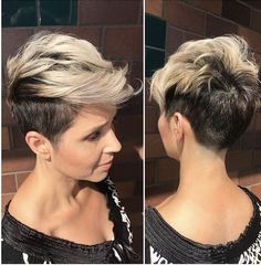 10 Messy Hairstyles for Short Hair – Quick Chic! Women Short Haircut 2019 Trendy Messy Hairstyles for Short Hair, Women Short Haircut Ideas Undercut Hairstyles, Pixie Hairstyles, Short Hairstyles For Women, Pixie Haircut, Cool Hairstyles, Beautiful Hairstyles, Messy Haircut, Hairstyles Videos, Pelo Guay
