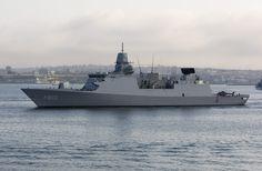 HNLMS Tromp (F803) - De Zeven Provinciën class Frigate (Netherlands)