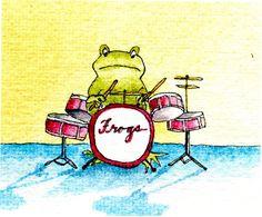 Frog Drummer