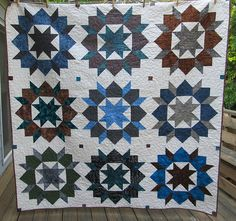 NewSwoon Quilt. Pattern is Swoon from Thimble Blossoms.