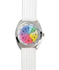 Nurse Mates Pizza Dial Watch