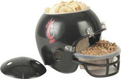 Cincinnati Bearcats Snack Football Helmet