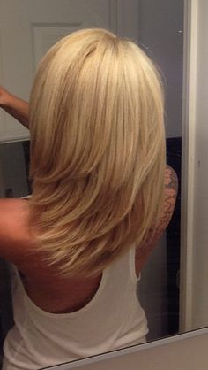 Like the cut but the color is too blonde for me!