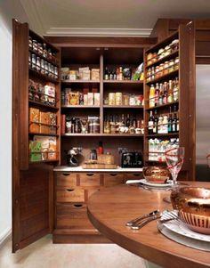 Kitchen Storage, Cabinet Colors, Kitchen Pantries, Kitchen Pantry ...