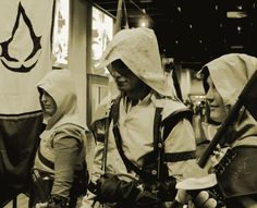 Assassin's Creed Cosplay at Gamescom 2013 - Me as Ratonhnhaké:ton Assassins Creed Cosplay, Assassin's Creed, Fandoms, Ideas, Thoughts, Fandom