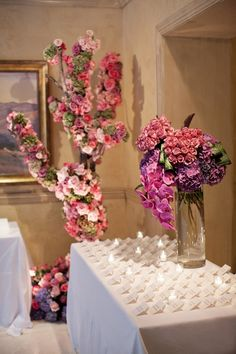 Photograph by: Aaron Delesie  |  Venue: Montage Laguna Beach  |  Floral Design by: Mark's Garden -repinned from Los Angeles County & Orange County celebrant https://OfficiantGuy.com #weddingsorangecounty